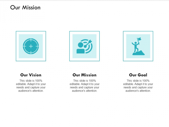 Our Mission And Goal Vision Ppt PowerPoint Presentation Slides Shapes