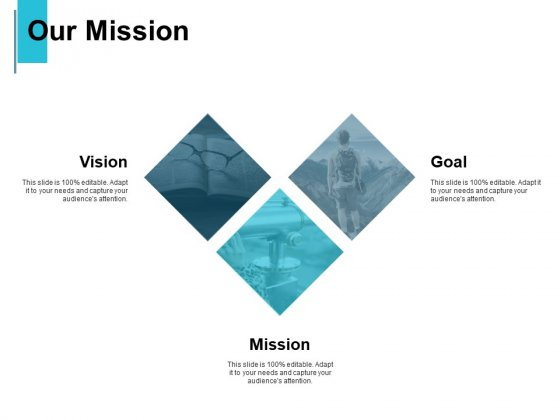 Our Mission And Vision Goal Ppt PowerPoint Presentation Outline Portrait
