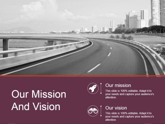 Our Mission And Vision Ppt PowerPoint Presentation Designs