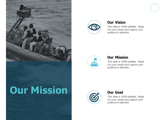 Our Mission And Vision Ppt PowerPoint Presentation Ideas Deck