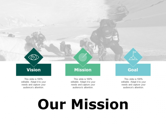 Our Mission And Vision Ppt PowerPoint Presentation Inspiration Slide