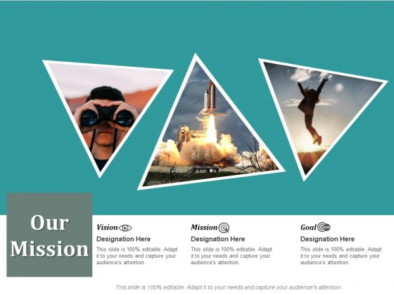 Our Mission And Vision Ppt PowerPoint Presentation Portfolio Display