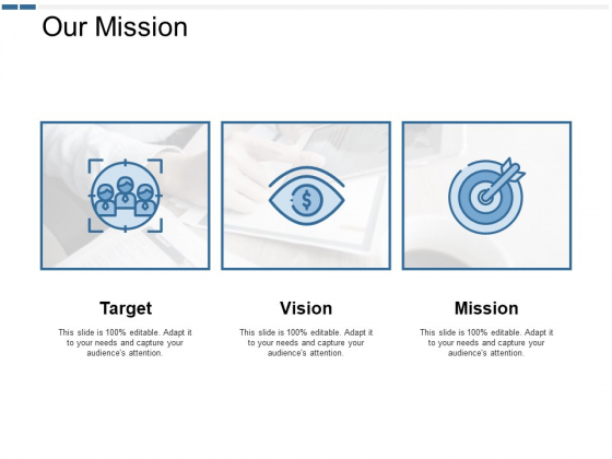 Our Mission And Vision Ppt PowerPoint Presentation Show Shapes
