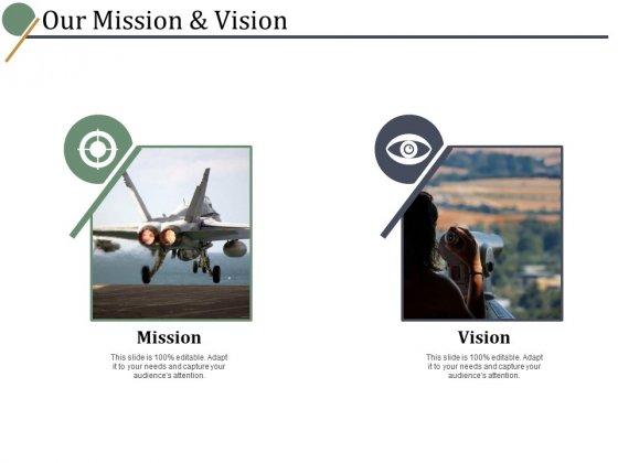 Our Mission And Vision Ppt PowerPoint Presentation Show