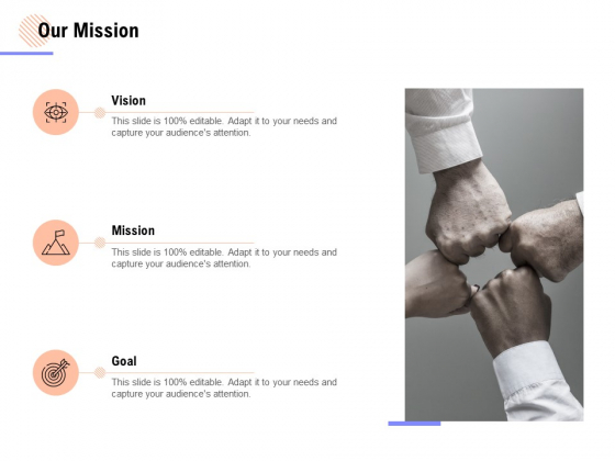 Our Mission Goal Ppt PowerPoint Presentation Gallery Graphics Example