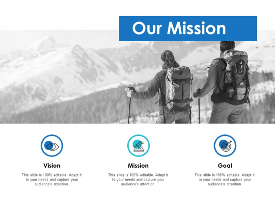 Our Mission Goal Ppt PowerPoint Presentation Infographics Examples