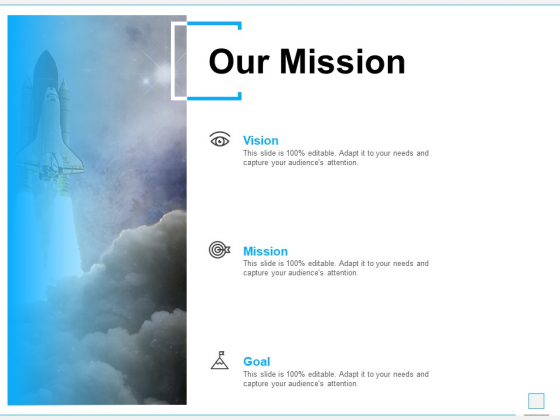 Our Mission Goal Ppt PowerPoint Presentation Infographics Guidelines