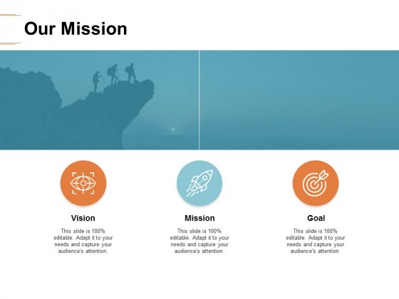 Our Mission Goal Ppt PowerPoint Presentation Infographics Outfit