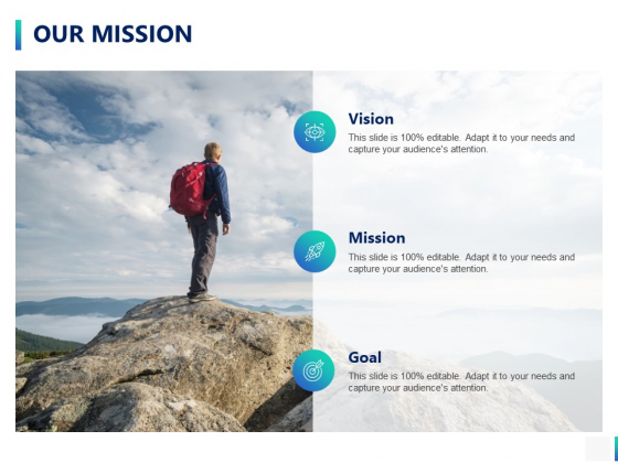 Our Mission Goal Ppt PowerPoint Presentation Outline Tips