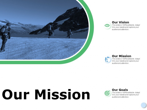 Our Mission Goal Ppt Powerpoint Presentation Themes