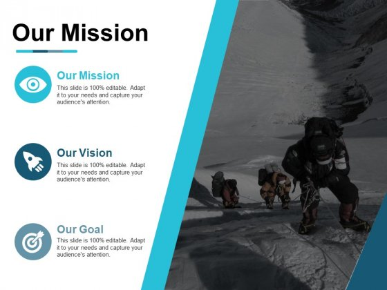 Our Mission Our Vision Ppt PowerPoint Presentation Model Design Inspiration