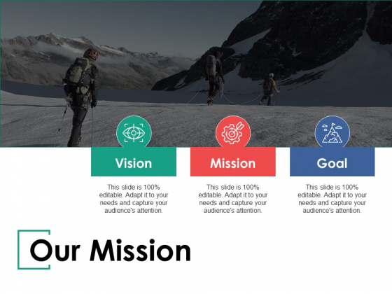 Our Mission Our Vision Ppt PowerPoint Presentation Show Slide Portrait