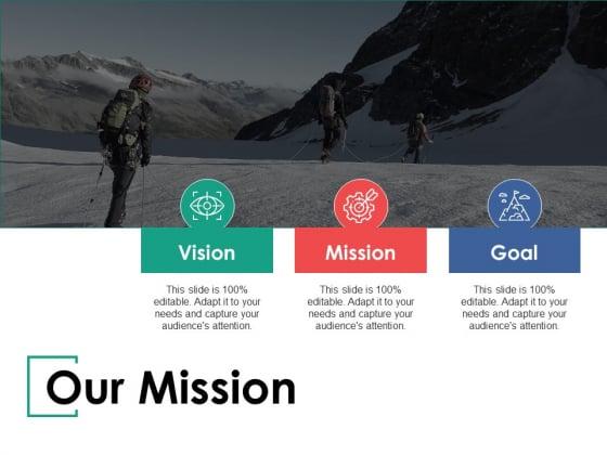 Our Mission Our Vision Ppt PowerPoint Presentation Show Slide Portrait
