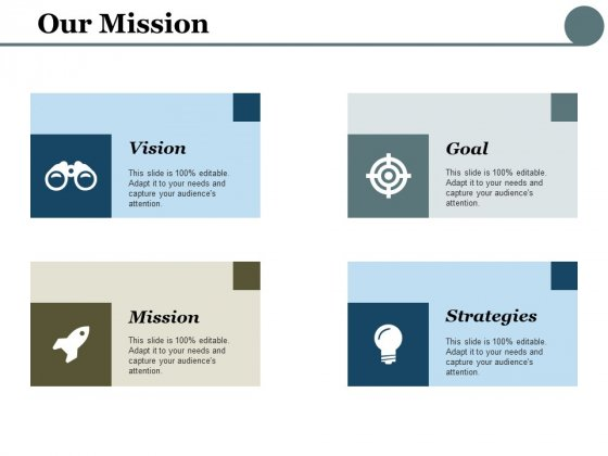 Our Mission Ppt PowerPoint Presentation File Topics
