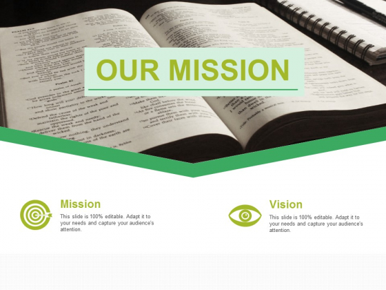 Our Mission Ppt PowerPoint Presentation File Visual Aids