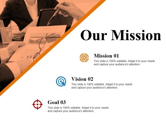 Our Mission Ppt PowerPoint Presentation Gallery Format Ideas