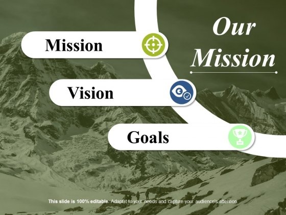 Our Mission Ppt PowerPoint Presentation Gallery Template