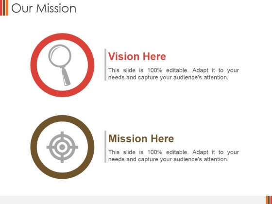 Our Mission Ppt PowerPoint Presentation Model Slides