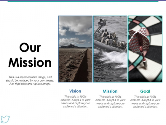 Our Mission Ppt PowerPoint Presentation Model Topics