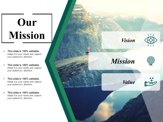 Our Mission Ppt PowerPoint Presentation Outline Graphics