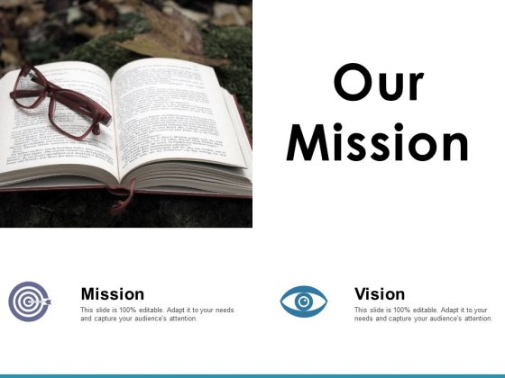Our Mission Ppt PowerPoint Presentation Pictures Graphics Design