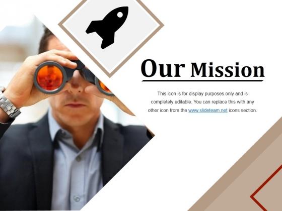 Our Mission Ppt PowerPoint Presentation Portfolio Graphics Design