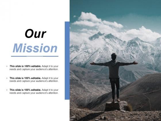 Our Mission Ppt PowerPoint Presentation Portfolio Tips