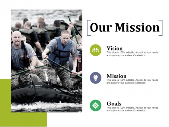 Our Mission Ppt PowerPoint Presentation Professional Design Templates