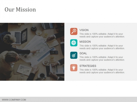 Our Mission Ppt PowerPoint Presentation Professional Layout