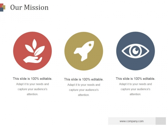 Our Mission Ppt PowerPoint Presentation Samples