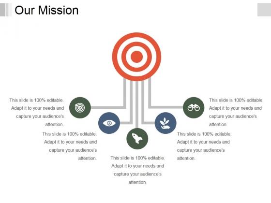 Our Mission Ppt PowerPoint Presentation Slides Ideas