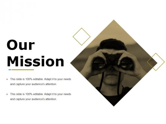 Our Mission Ppt PowerPoint Presentation Slides Themes