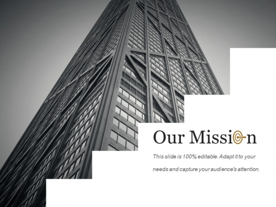Our Mission Ppt PowerPoint Presentation Styles Design Templates
