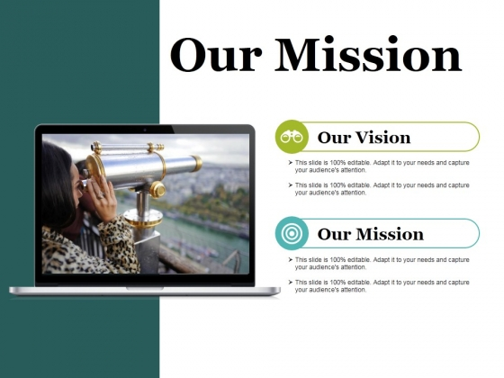 Our Mission Ppt PowerPoint Presentation Styles Samples