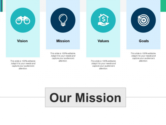 Our Mission Ppt PowerPoint Presentation Summary Demonstration