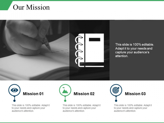 Our Mission Ppt PowerPoint Presentation Summary Structure