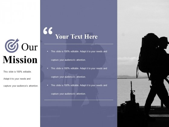 Our Mission Ppt PowerPoint Presentation Visual Aids Gallery