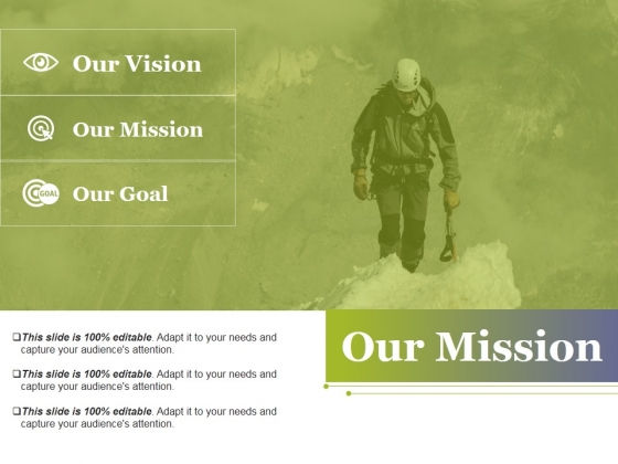 Our Mission Ppt PowerPoint Presentation Visual Aids Show