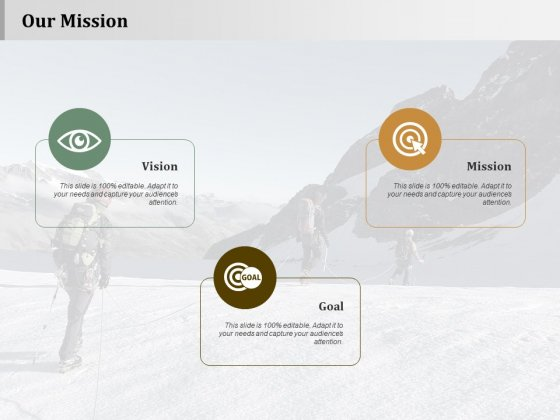 Our Mission Strategy Approaches Ppt PowerPoint Presentation Summary Topics