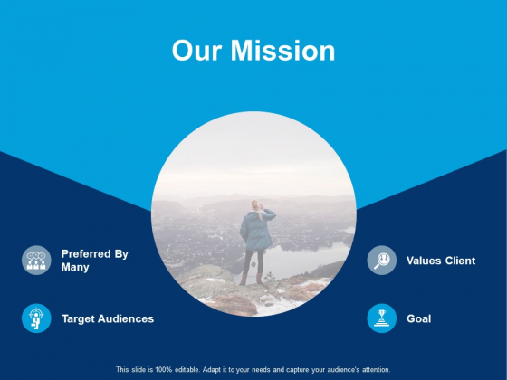 Our Mission Target Audiences Ppt PowerPoint Presentation Portfolio Objects