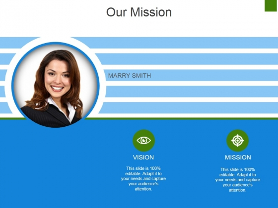 Our Mission Template 2 Ppt PowerPoint Presentation Show Inspiration