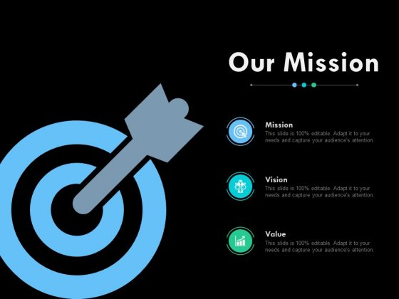 Our Mission Vision And Value Management Ppt PowerPoint Presentation Styles Format