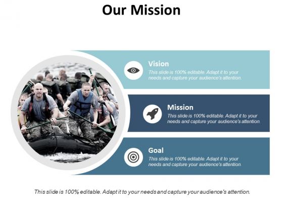 Our Mission Vision Goal Ppt PowerPoint Presentation File Display