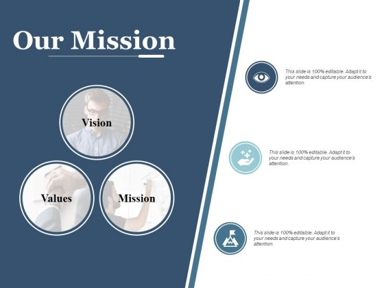 Our Mission Vision Goal Ppt PowerPoint Presentation Gallery