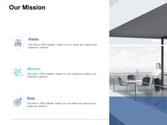 Our Mission Vision Goal Ppt PowerPoint Presentation Ideas Format