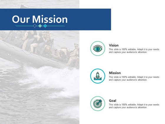 Our Mission Vision Goal Ppt Powerpoint Presentation Ideas Smartart