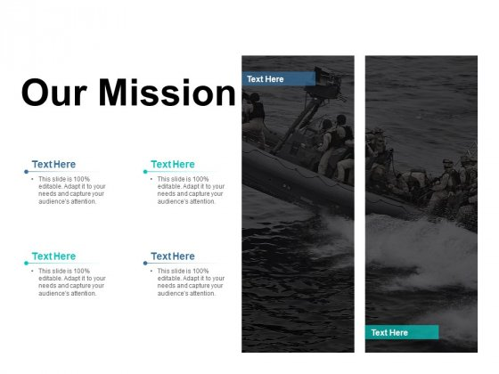 Our Mission Vision Goal Ppt PowerPoint Presentation Inspiration Deck