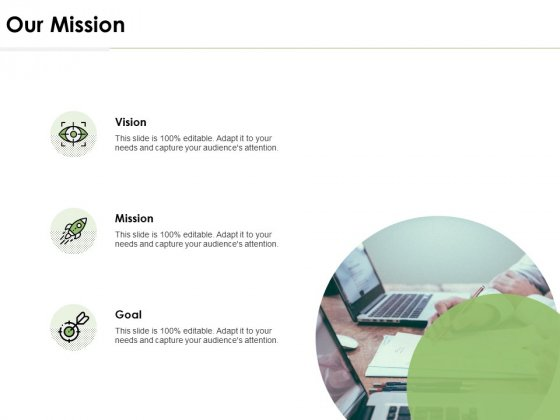 Our Mission Vision Goal Ppt PowerPoint Presentation Inspiration Icons