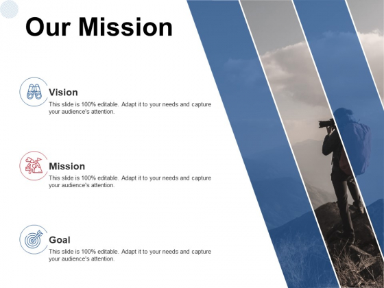 Our Mission Vision Goal Ppt PowerPoint Presentation Layout