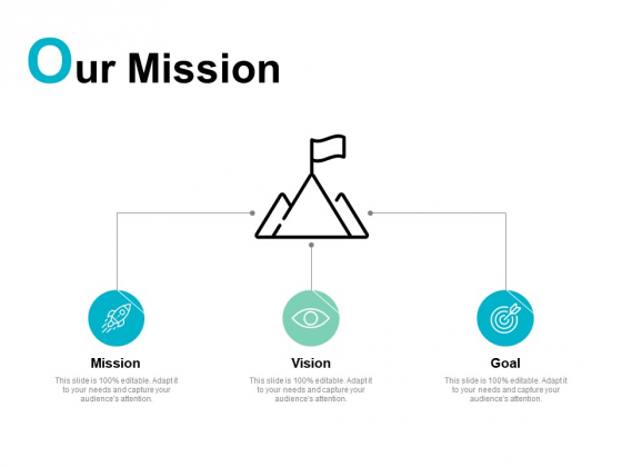 Our Mission Vision Goal Ppt PowerPoint Presentation Model Information